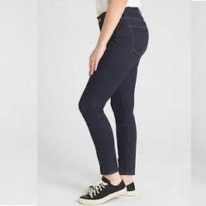 GAP | Premium Curvy Straight Jeans Dark Wash 14/32